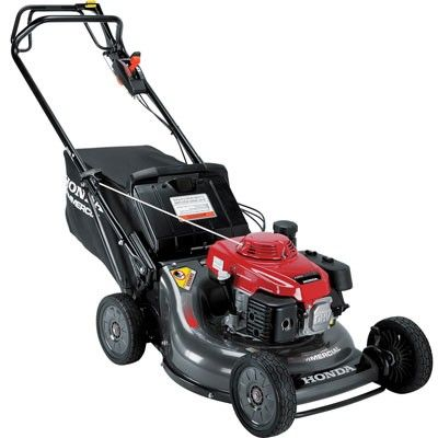 Honda 21 Commercial 3 In 1 Self Propelled Gas Lawn Mower