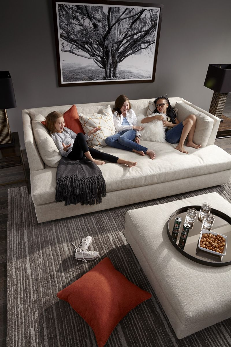 Mg Bw Franco Media Sofa Deep And Relaxing Sink In Comfort
