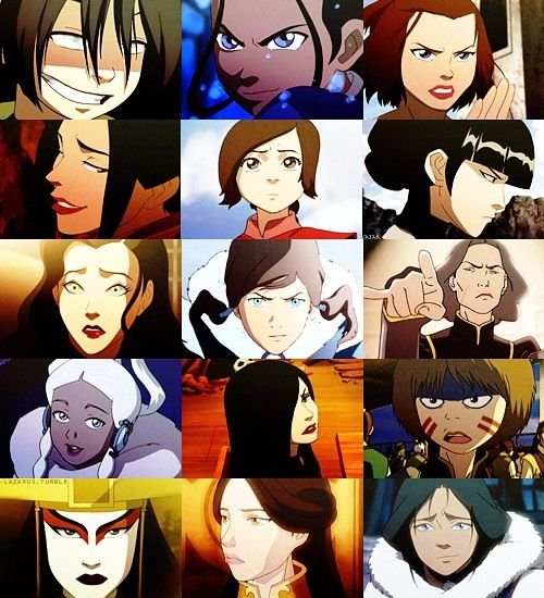 Avatar the last airbender and the legend of korra female avatar the last airbender and the legend of korra female characters voltagebd Images