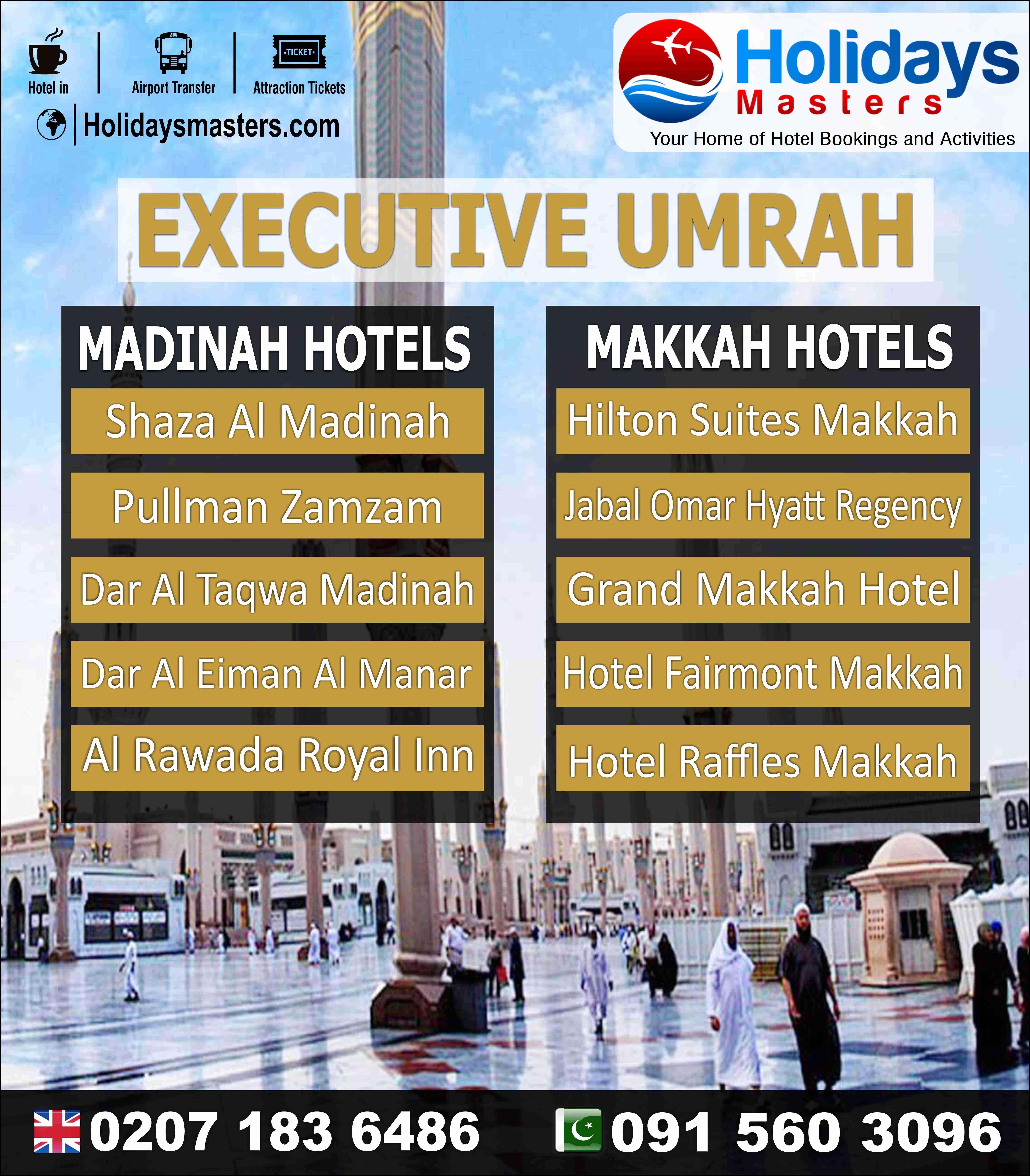 Executive umrah booking hotel hotel deals hotel