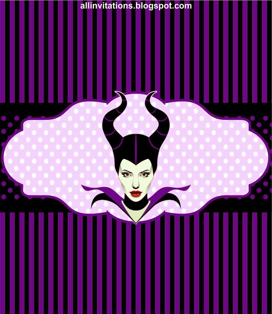 CANDY BAR WRAPPER---Etiqueta chocolate malefica | Maleficent ...