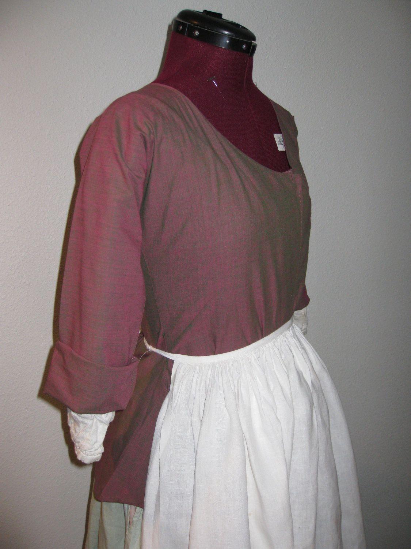 18th Century Women\'s Shortgown. $75.00, via Etsy. | 18th century ...