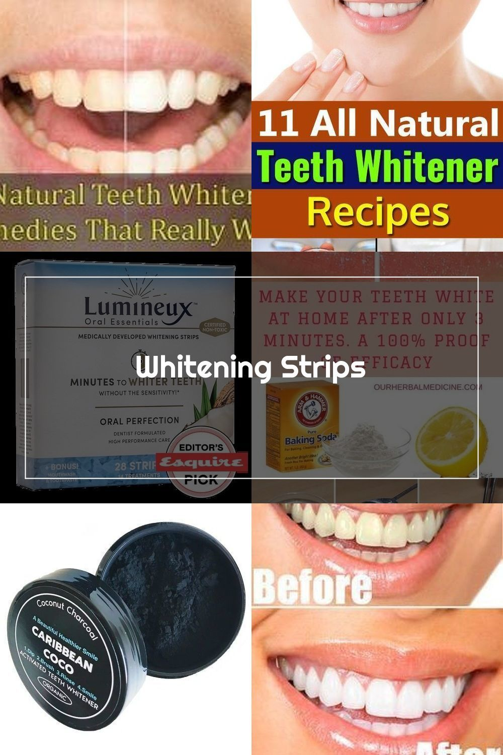 Pin En Natural Teeth Whitening