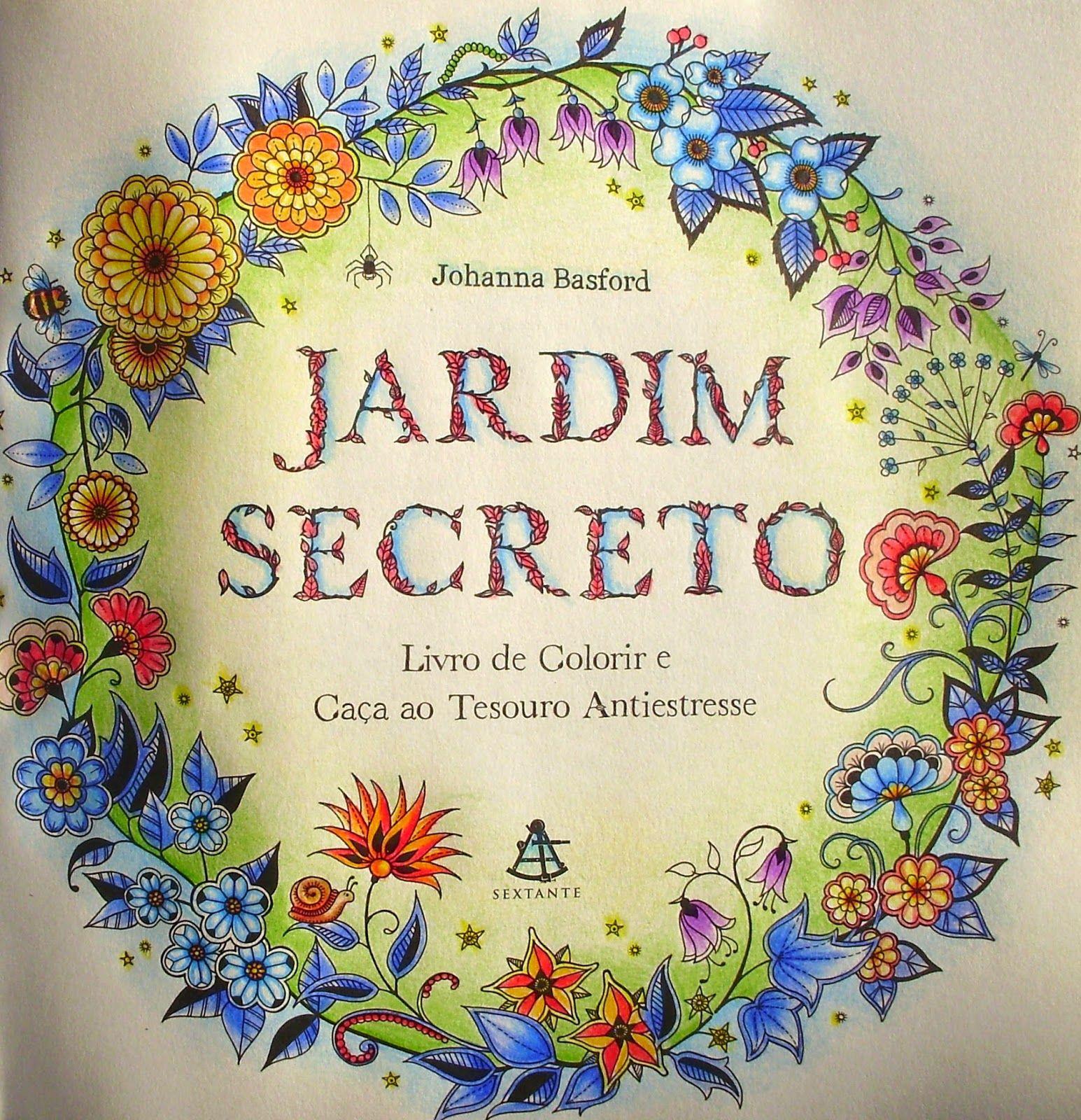 Jardim Secreto Livro