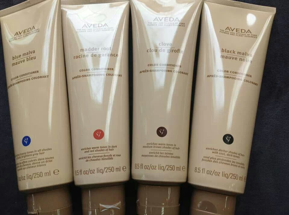 Aveda Makes These Great Tinted Conditioners That Will