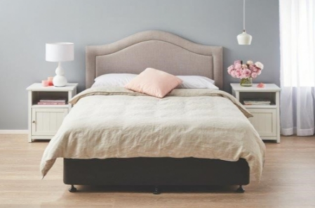 The Louisa Bedhead Is An Elegant Addition To Your Bedroom With A