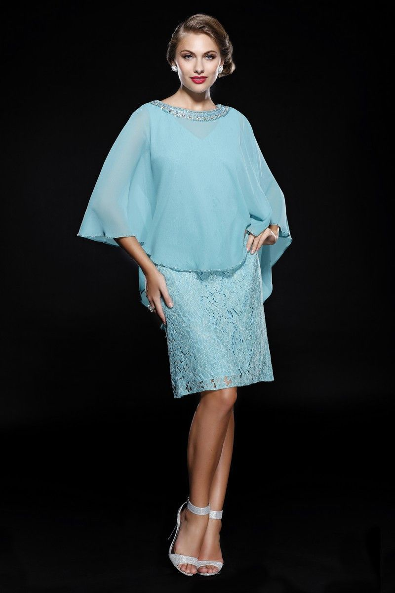 Modest Short Mother of the Bride Plus Size Formal Dress | Mother of ...