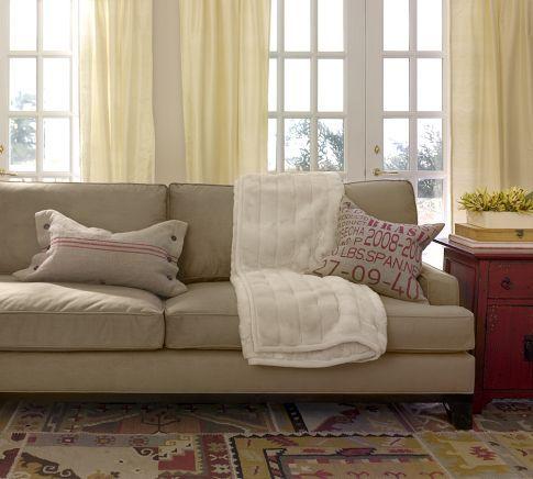 Seabury Sofa From Pottery Barn