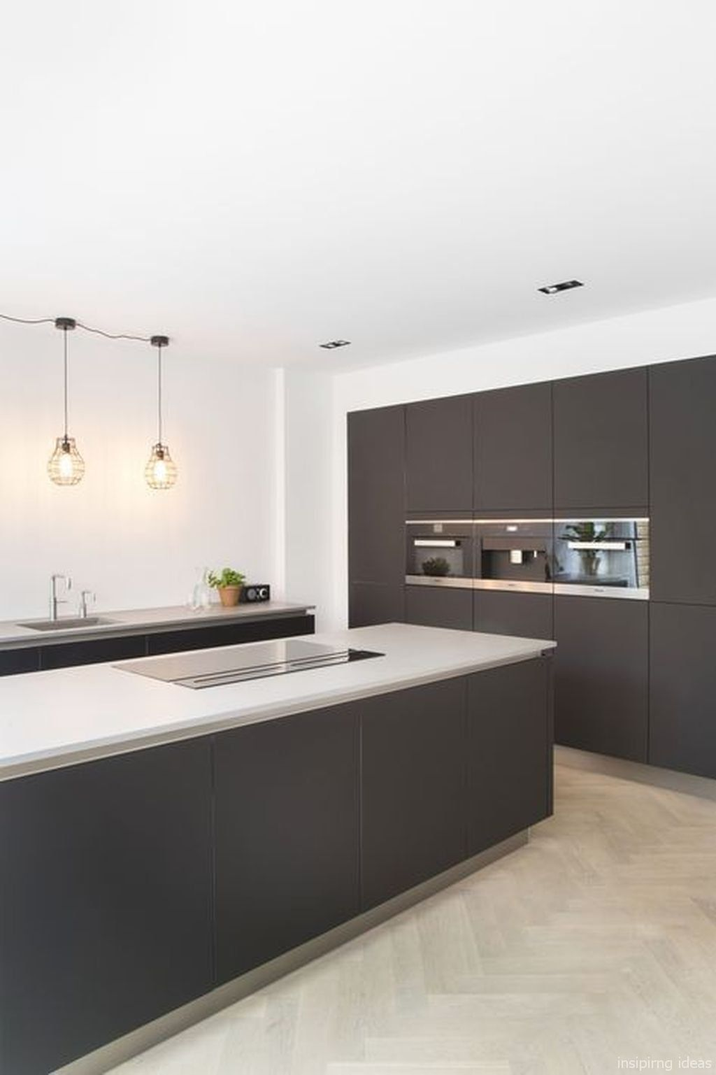 Fabulous Before And After Showhouse Kitchen Modern Black Kitchen Traditional Home Magazine House And Home Magazine