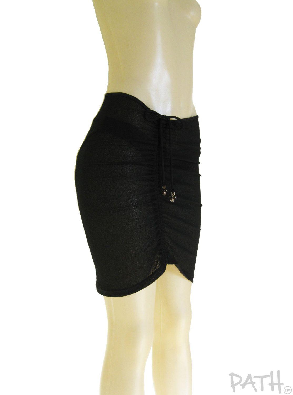 Couvre Maillot Sheer Pareo Transparent Jupe De Plage Jupe Courte Transparente Vetement De Plage Couvre Bikini By Fashion Sheer Bikini Trending Outfits
