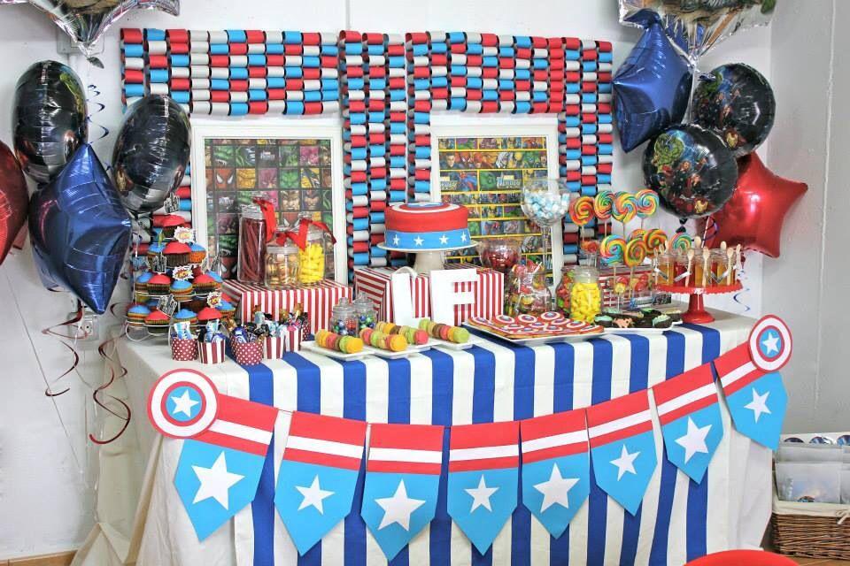 Mesa dulce #Losvengadores, en @cosasdemaruja !!!