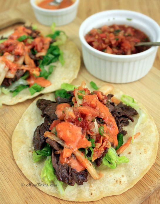 Recipe: Beef and Kimchi Tacos | cHowDivine.com