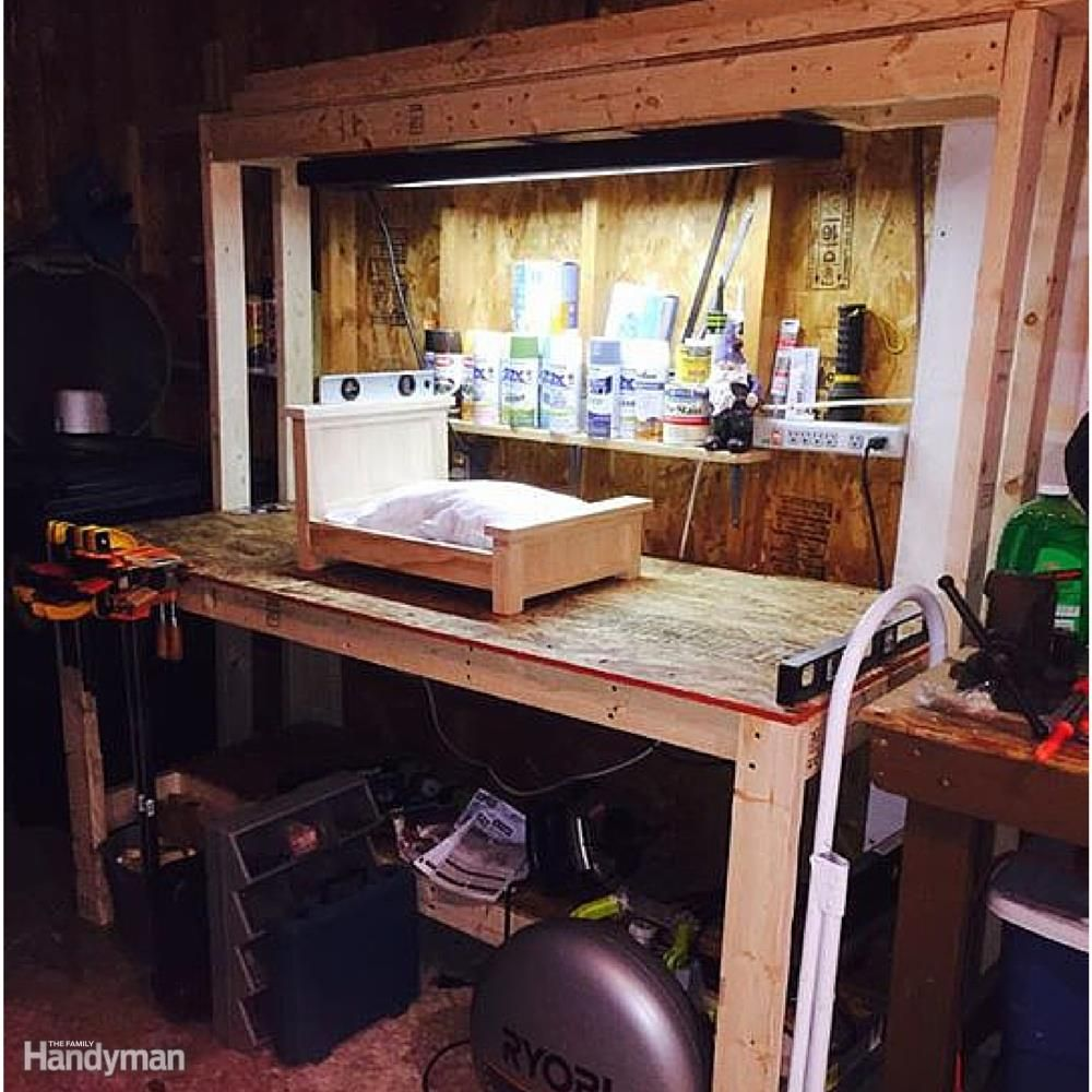 The 10 Best Garage Workbench Builds: 10 Real-Life Wood Workbench Plans And Inspiration Photos