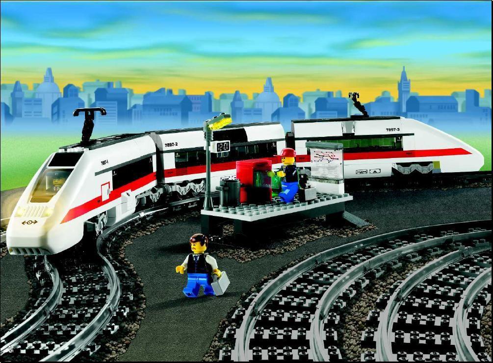City Passenger Train Lego 7897 Lego Sets Of Epicness