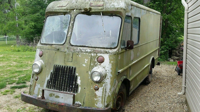1950 Ford Aluminum Wonder Bread Step Van   Vintage Step Vans