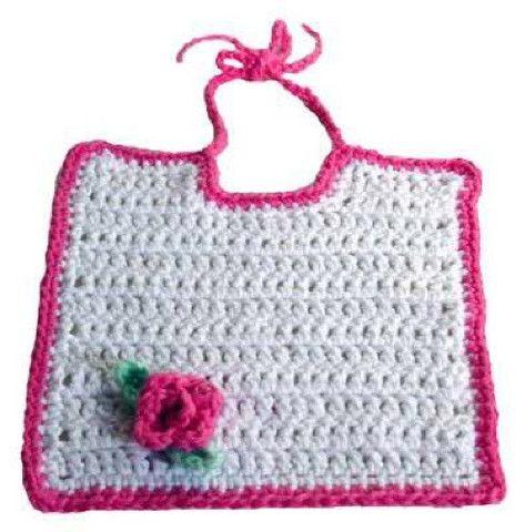 Fancy Bibs For Adults Patterns Picture Of Free Rosebud Bib Pattern