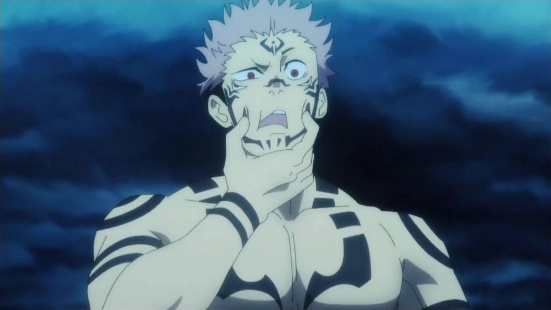 Jujutsu Kaisen S1e1 Jujutsu Anime Dark Anime Guys