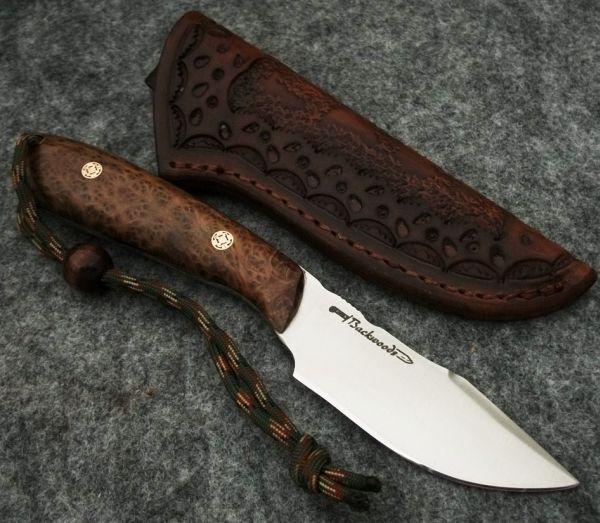 Burl Source Stabilized Knife Handle Wood Redwood Knife