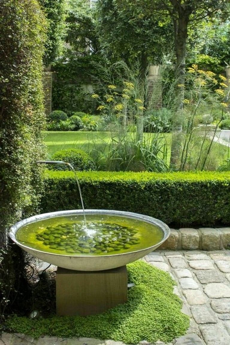 48 Impresive Outdoor Water Fountains Ideas For Garden Landscaping