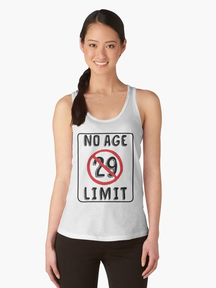Buy No Age Limit 29th Birthday Gifts Funny B Day For 29 Year Old By MemWear As A T Shirt Classic Tri Blend Lightweight Hoodie