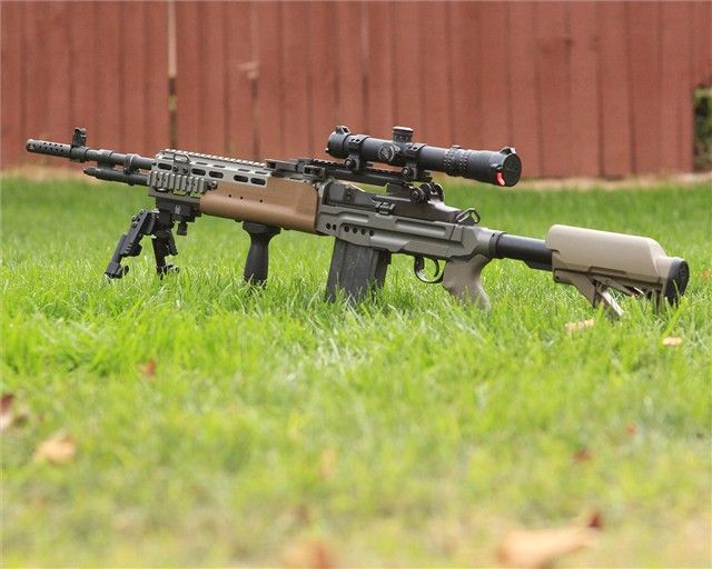 """gunrunnerhell: """" Sage EBR A chassis for the M14/M1A platform"""