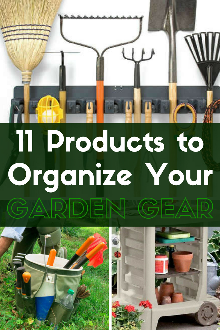 Every gardener has their essential tools they cannot live without. But storing all that gardening gear can be a challenge. These 11 buys will help you organize your gardening tools so that they're ready whenever you are. Click through to find our favorite gardening storage ideas and products.