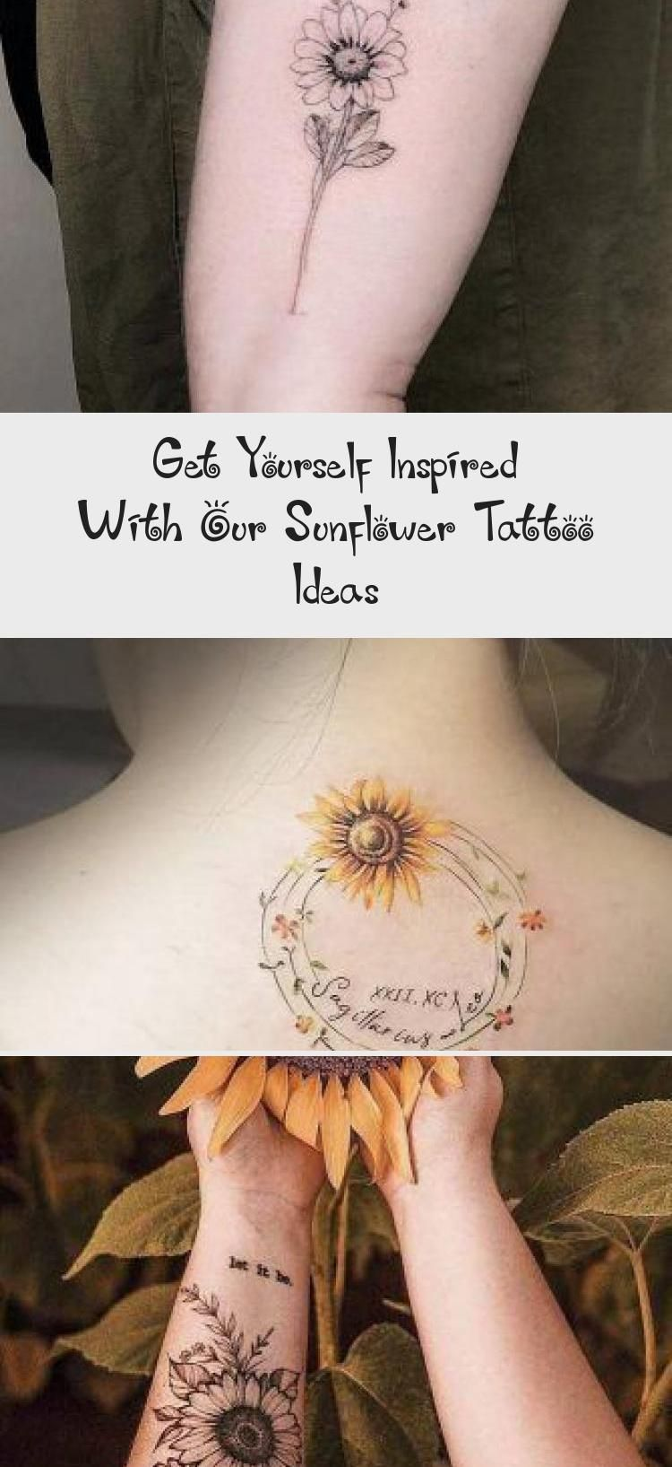 Significance Of A Sunflower Tattoo Backtattoo A Lot Of Beautiful Designs For Women Here You Will Find Not Onl In 2020 Sunflower Tattoo Tattoos Floral Thigh Tattoos