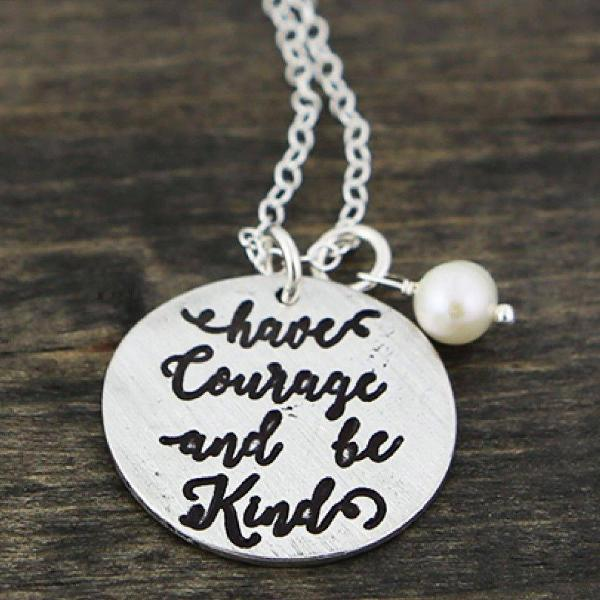 24+ Have courage and be kind jewelry ideas