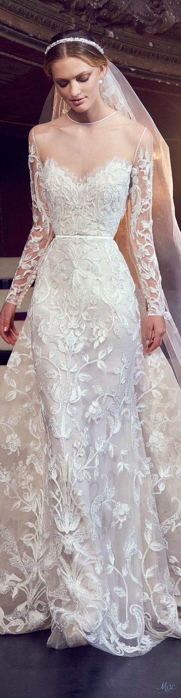 Fall 2018 Bridal Elie Saab   Lace   Pinterest   Brautkleid