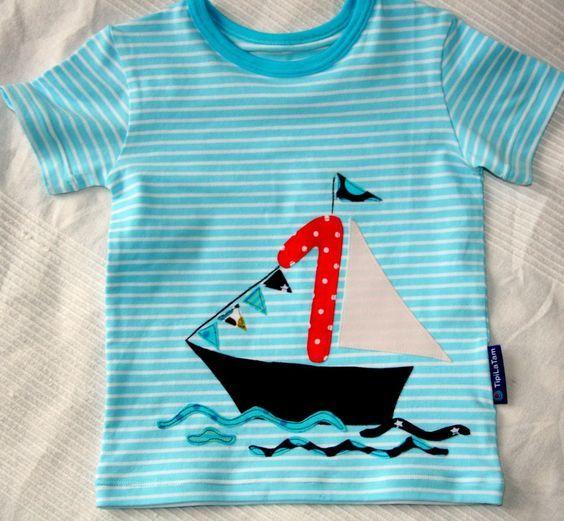 Schnittmuster #03 Spot Fish von Ottobre Design #babyshirts