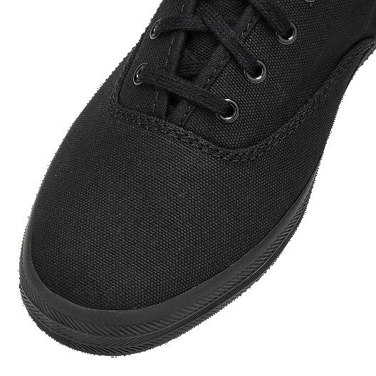 Keds Women's Champion Canvas Shoes Black Black shoes