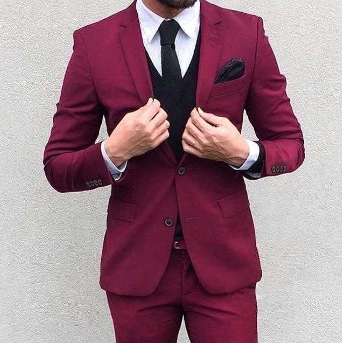 Stylish Men Mens Suit Cool Colours Mens Fashion Mens