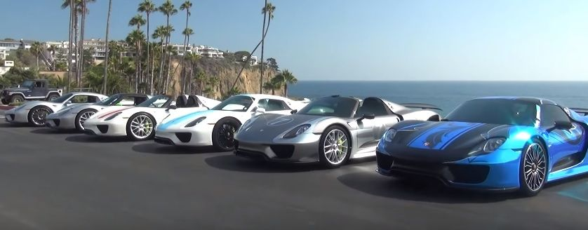 The Supercar Kids Porsche Spyders Say Hi To Southern