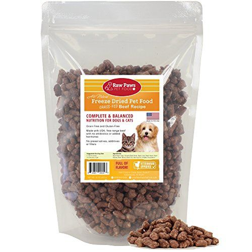 Raw Paws Pet Premium Freeze Dried Dog Food 16ounce  100 Grass Fed Beef  Made in the USA Grain Free Diet * You can get more details by clicking on the image. Note: It's an affiliate link to Amazon.
