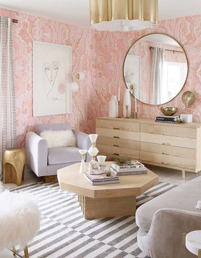 Room This Glam Guest Bedroom Makeover