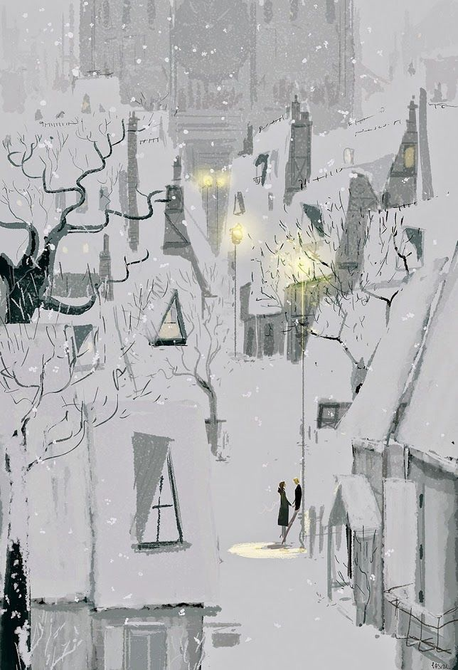 Four thirty in winter. #pascalcampionart.