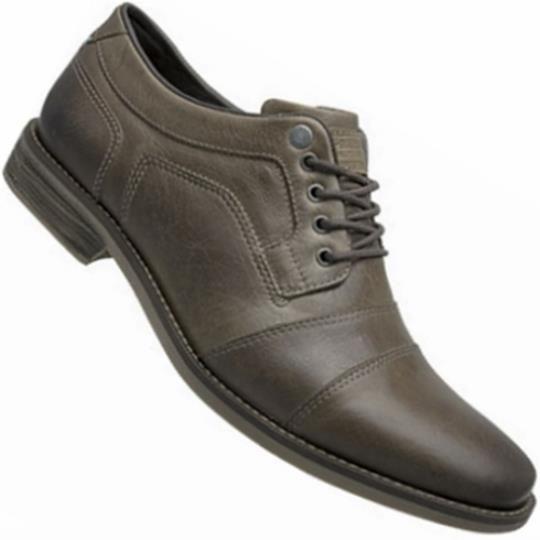 ac2cac655 Sapato Free Way Barcel 2 Dry Mist Social C/ Cadarço Masculino - Imagem 1