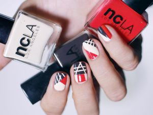 Nail art graphic Runway NCLA