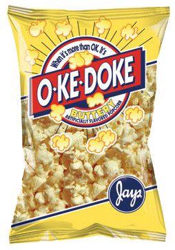 O Ke Doke Butter Popcorn 8 Oz Butter Popcorn Snacks Snack Recipes