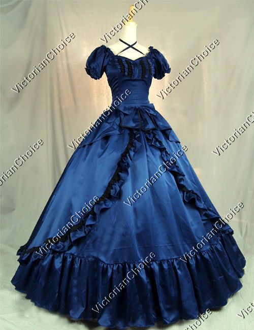 Details about Victorian Southern Belle Scarlett O'Hara Fancy Dress Halloween Ball Gown 206 #dressesfromthesouthernbelleera