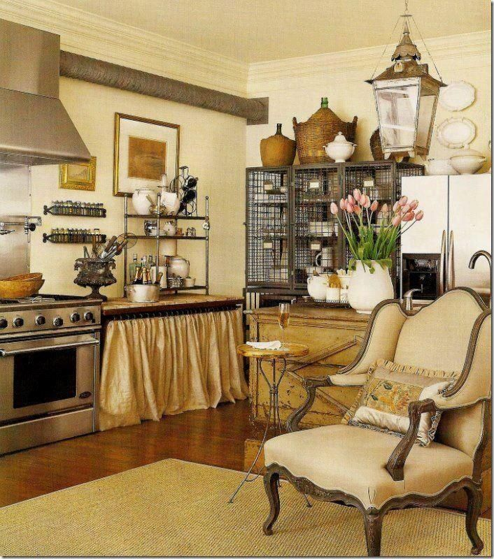 French country kitchen French Pinterest French country - French Country Kitchens