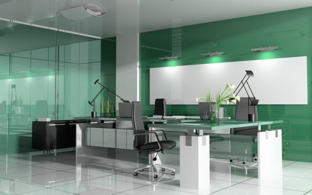 10 Stylish Modern Office Interior Design Ideas Ofisler Duvar