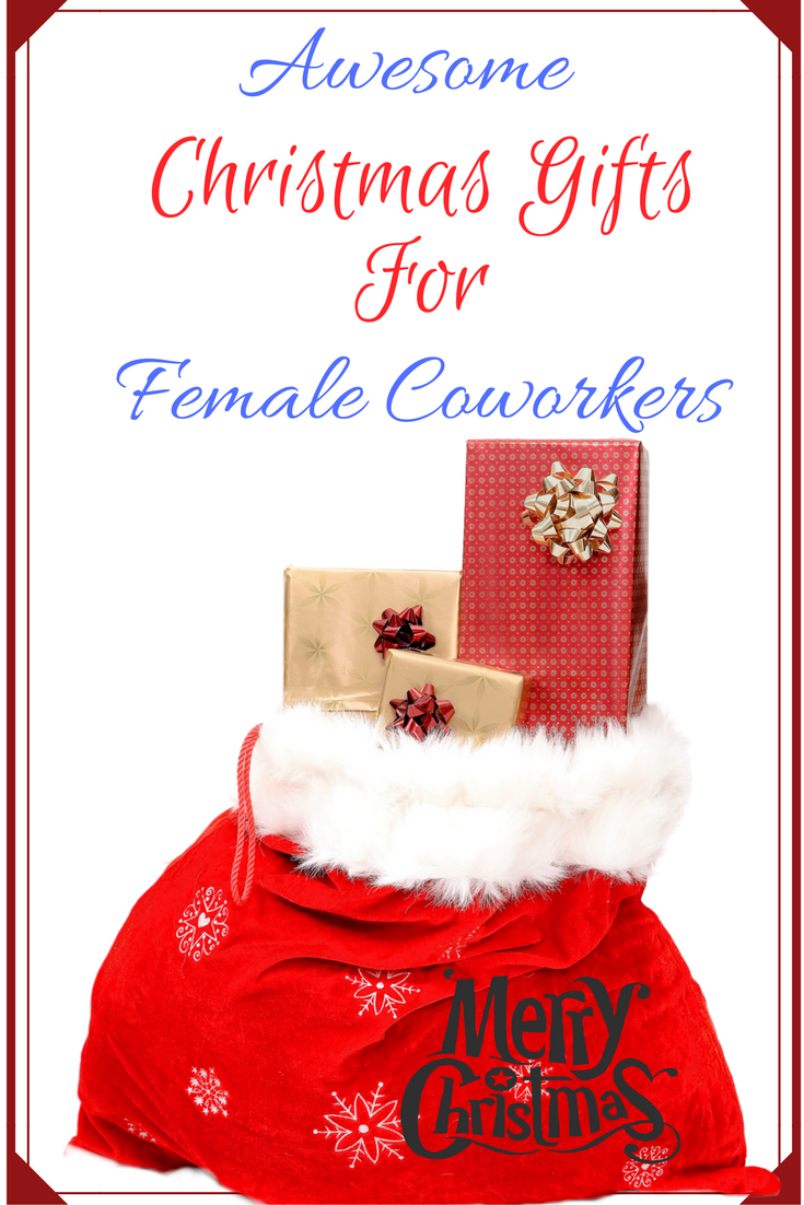 Female co worker christmas gift ideas