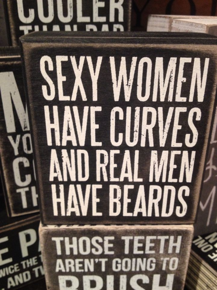 Beards and curves <3