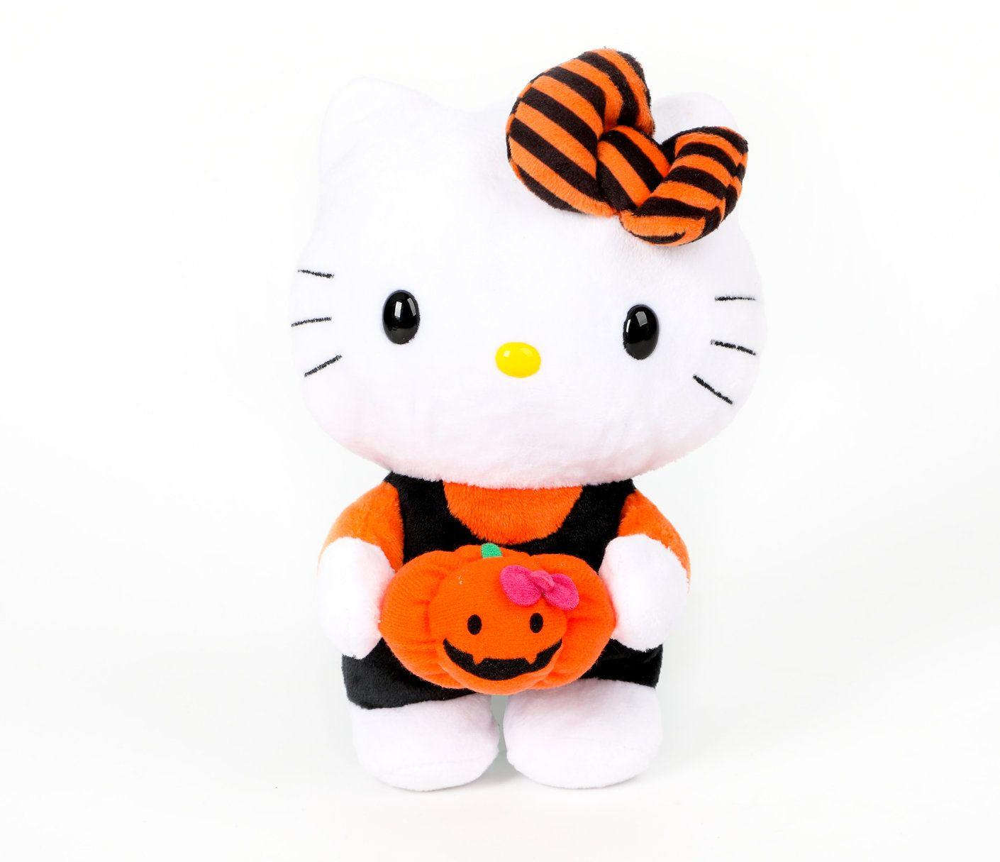 Hello Kitty Reversible Halloween Plush  Pumpkin   misc    Things To ... 6f7dec18d9