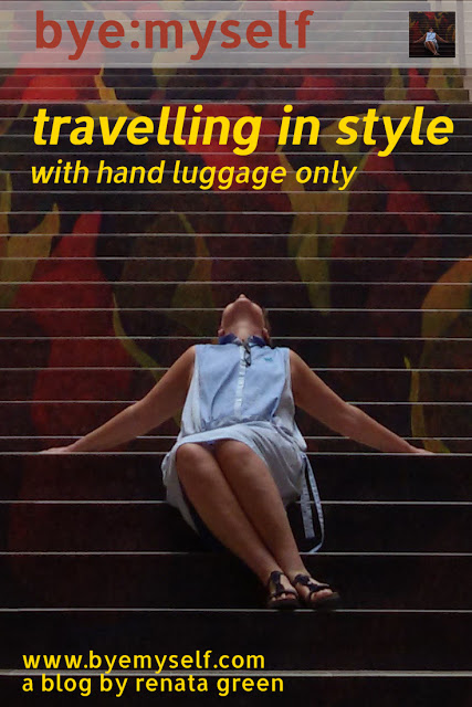 travelling in style - with hand luggage only #handluggage bye:myself: travelling in style - with hand luggage only #handluggage
