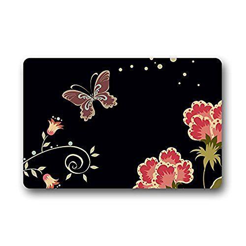 Homie Design Door Mats Little Fairy Butterfly Outdoor/Ind…
