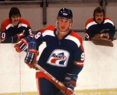 Wayne Gretzky Indianapolis Racers  1fcf05676