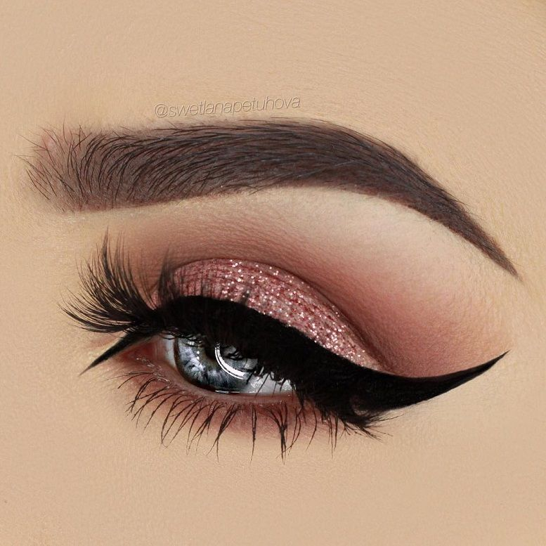 Amazing eye makeup looks eye liner & mascara