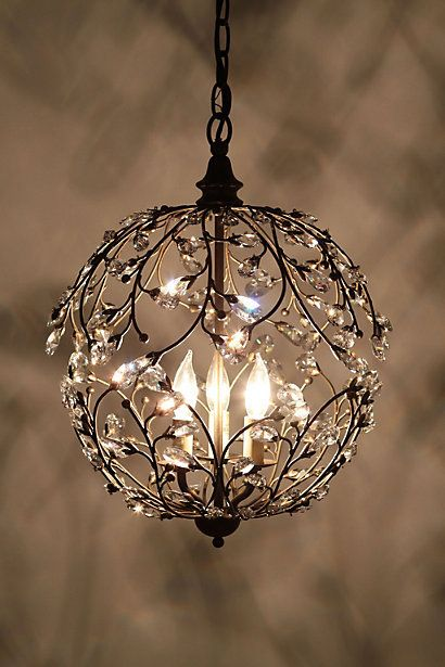 Lambent Sphere Chandelier Only 50 It Would Be Gorgeous In A